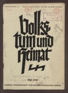 Volkstum und Heimat,1939, [H. 5]