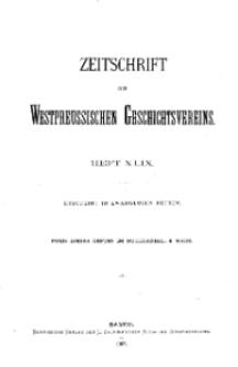 Zeitschrift des Westpreußischen Geschichtsvereins, 1907, H. 49