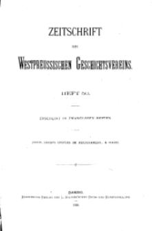 Zeitschrift des Westpreußischen Geschichtsvereins, 1908, H. 50