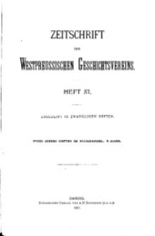 Zeitschrift des Westpreußischen Geschichtsvereins, 1917, H. 57