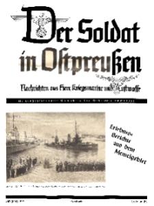 Der Soldat in Ostpreussen: Nachrichten aus heer, Kriegsmarine und Luftwaffe, Nr 4.