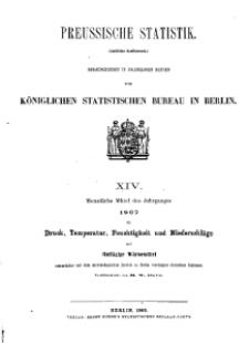 Preussische Statistik. H. 14.
