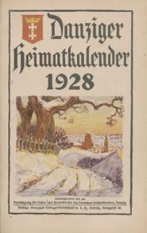 Danziger Heimatkalender 1928