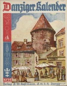 Danziger Kalender, 1934/1935
