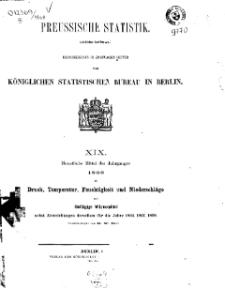 Preussische Statistik. H. 19.
