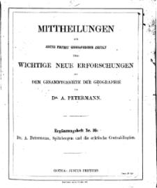 Mittheilungen aus Justus Perthes' Geographischer, Nr 16.
