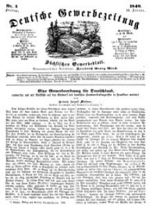 Deutsche Gewerbezeitung und Sächsisches Gewerbeblatt, Jahrg. XIV, Freitag, 12. Januar, nr 4.