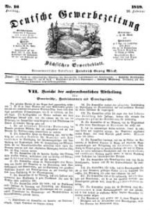 Deutsche Gewerbezeitung und Sächsisches Gewerbeblatt, Jahrg. XIV, Freitag, 23. Februar, nr 16.