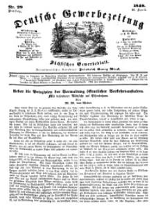 Deutsche Gewerbezeitung und Sächsisches Gewerbeblatt, Jahrg. XIV, Dienstag, 10. April, nr 29.