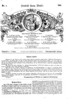 Illustrirte Gewerbezeitung, 1861. Jahrg. XXVI, nr 1.