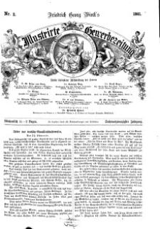 Illustrirte Gewerbezeitung, 1861. Jahrg. XXVI, nr 2.
