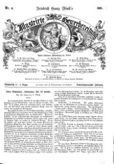 Illustrirte Gewerbezeitung, 1861. Jahrg. XXVI, nr 4.