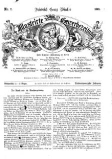 Illustrirte Gewerbezeitung, 1861. Jahrg. XXVI, nr 7.