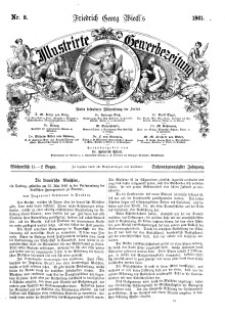 Illustrirte Gewerbezeitung, 1861. Jahrg. XXVI, nr 8.