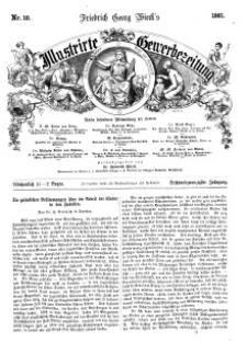 Illustrirte Gewerbezeitung, 1861. Jahrg. XXVI, nr 10.