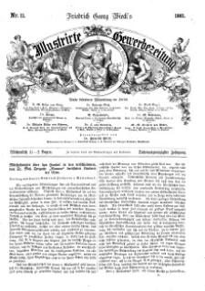 Illustrirte Gewerbezeitung, 1861. Jahrg. XXVI, nr 11.