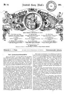 Illustrirte Gewerbezeitung, 1861. Jahrg. XXVI, nr 14.