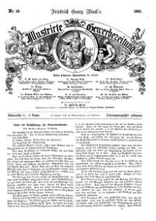 Illustrirte Gewerbezeitung, 1861. Jahrg. XXVI, nr 16.