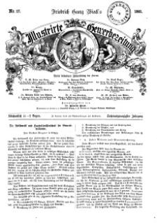 Illustrirte Gewerbezeitung, 1861. Jahrg. XXVI, nr 17.