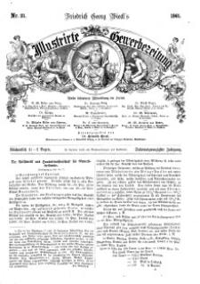Illustrirte Gewerbezeitung, 1861. Jahrg. XXVI, nr 21.