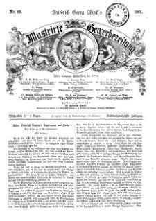 Illustrirte Gewerbezeitung, 1861. Jahrg. XXVI, nr 22.