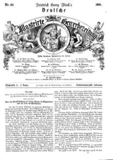 Deutsche Illustrirte Gewerbezeitung, 1861. Jahrg. XXVI, nr 23.