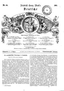 Deutsche Illustrirte Gewerbezeitung, 1861. Jahrg. XXVI, nr 24.