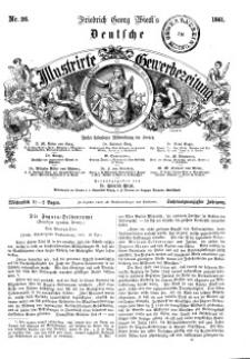 Deutsche Illustrirte Gewerbezeitung, 1861. Jahrg. XXVI, nr 26.