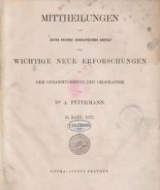 Mittheilungen aus Justus Perthes' Geographischer, Nr 18.