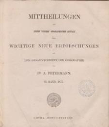 Mittheilungen aus Justus Perthes' Geographischer, Nr 21.