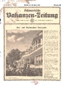Schwartzsche Vakanzen-Zeitung, Jg. 68, 1938, Nr 25