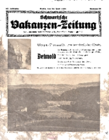 Schwartzsche Vakanzen-Zeitung, Jg. 68, 1938, Nr 26
