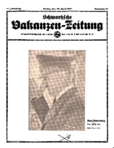 Schwartzsche Vokanzen-Zeitung, Jg. 71, 1941, Nr 17
