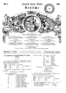 Deutsche Illustrirte Gewerbezeitung, 1862. Jahrg. XXVII, nr 2.