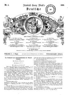 Deutsche Illustrirte Gewerbezeitung, 1862. Jahrg. XXVII, nr 5.