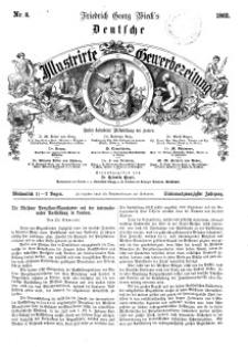 Deutsche Illustrirte Gewerbezeitung, 1862. Jahrg. XXVII, nr 8.
