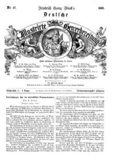 Deutsche Illustrirte Gewerbezeitung, 1862. Jahrg. XXVII, nr 17.