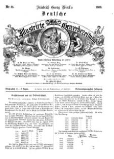 Deutsche Illustrirte Gewerbezeitung, 1862. Jahrg. XXVII, nr 21.