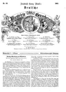 Deutsche Illustrirte Gewerbezeitung, 1862. Jahrg. XXVII, nr 22.