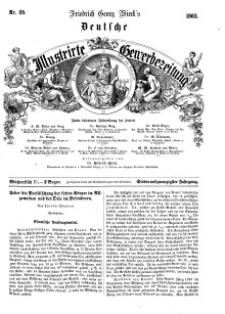 Deutsche Illustrirte Gewerbezeitung, 1862. Jahrg. XXVII, nr 25.