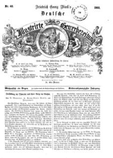 Deutsche Illustrirte Gewerbezeitung, 1862. Jahrg. XXVII, nr 42.