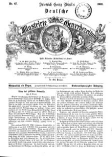 Deutsche Illustrirte Gewerbezeitung, 1862. Jahrg. XXVII, nr 47.