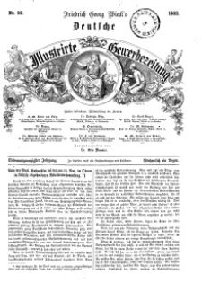Deutsche Illustrirte Gewerbezeitung, 1862. Jahrg. XXVII, nr 50.