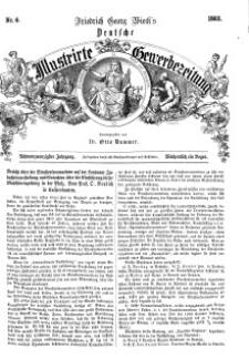 Deutsche Illustrirte Gewerbezeitung, 1863. Jahrg. XXVIII, nr 6.