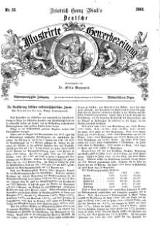Deutsche Illustrirte Gewerbezeitung, 1863. Jahrg. XXVIII, nr 12.