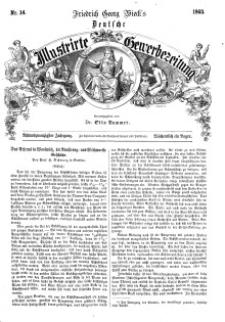 Deutsche Illustrirte Gewerbezeitung, 1863. Jahrg. XXVIII, nr 14.