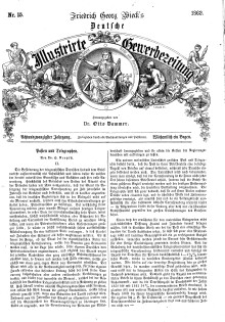 Deutsche Illustrirte Gewerbezeitung, 1863. Jahrg. XXVIII, nr 15.