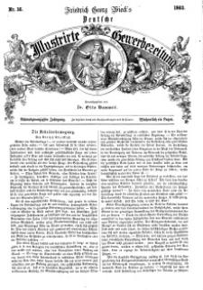 Deutsche Illustrirte Gewerbezeitung, 1863. Jahrg. XXVIII, nr 16.