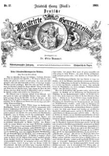 Deutsche Illustrirte Gewerbezeitung, 1863. Jahrg. XXVIII, nr 17.