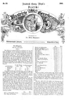Deutsche Illustrirte Gewerbezeitung, 1863. Jahrg. XXVIII, nr 22.